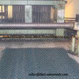 Caixa sextavada galvanizada mergulhada quente de Gabion do Riverbank do engranzamento de fio