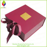 Ribbon를 가진 초 Folding Paper Gift Packaging Box
