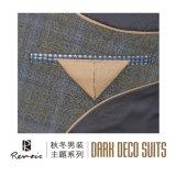 OEM 2 peças de lã Classic Fit Men's Business Suit
