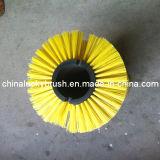 Cepillo amarillo material del barrendero de camino de los PP (YY-206)