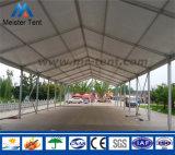透過PVCが付いている明確な屋根の倉庫のテント