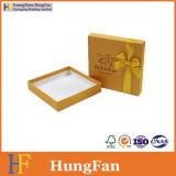 포장 초콜렛 상자를 인쇄하는 황금 종이