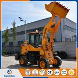 Mini collegamento anteriore del caricatore del caricatore Zl16 della rotella della Cina (1.2 tonnellate)