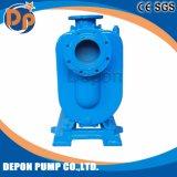 ディーゼル機関の灌漑用水ポンプの発動を促している自己