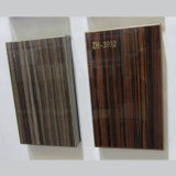 Placage en bois décoratif de cuisine de panneau (ZH3931)