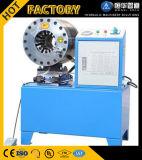 Máquina del manguito de goma hidráulico de 2 pulgadas/arrugador/estampador del manguito que prensan