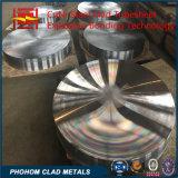 Bimetallic 316L + SA516 Gr70 Plaque de tôle plaquée