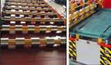 2017 formations en aluminium de roulis de toiture en métal d'usine de Dixin faites à la machine en Chine