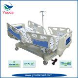 Fünf Funktions-elektrisches vertikales reisendes Krankenhaus-Bett