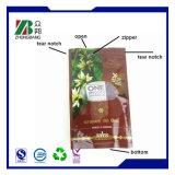 Sac en plastique pour emballage alimentaire Ziplock en plastique avec fermeture à glissière
