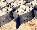 HDPE de Stabilisator Geocell van het Grint van de Grond voor Raodbed, Helling, Spoorweg