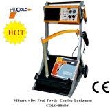 Sistema eletrostático do injetor de pulverizador do pó da unidade Vibratory da alimentação da caixa 800