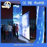 Affichage à LED flexible polychrome d'intérieur de P7.62
