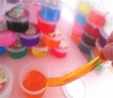 عمليّة بيع حارّ طين بلّوريّة يستعمل على لعب تربويّ