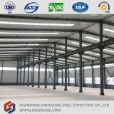 Construction d'atelier de structure métallique de qualité