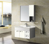Steel di acciaio inossidabile Bathroom Cabinet con Side Cabinet (T-9591)