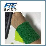 2016 het nieuwste Borduurwerk Terry Sport Sweatbands van de Kleur