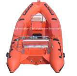Aqualand 4.7m 16feet Rigid Inflatable Boat/Rib BoatまたはRescue Boat (rib470b)