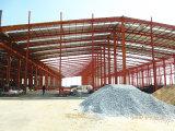 Magazzino prefabbricato della struttura d'acciaio del blocco per grafici portale ben progettato (KXD-46)