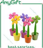 Fleur Ballpen avec la couleur et le logo adaptés aux besoins du client