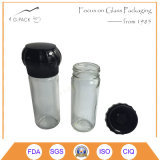 contenitore di vetro della spezia 100ml che misura le smerigliatrici differenti