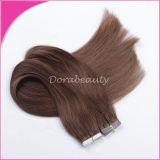 ブラジルのRemyの毛テープ毛の拡張