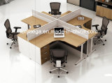 小選挙のL字型オフィスの区分マネージャのシート(FOH-JT1A-1)