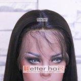 Eenheid van het Kant van het Deel van de voor de betere inkomstklasse Salon de Vrije rechtstreeks Natuurlijke Hairline Volledige