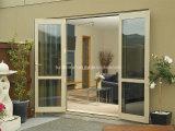Безшовный анти- двойник стеклянное алюминиевое Windows влажности и двери