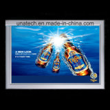 Ultra delgado de aluminio de anuncios de medios cubierta Caja de luz LED