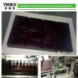 Tablettes personnalisées de chocolat déposant la ligne