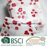 綿の赤ん坊の綿モスリンの覆い毛布は包む