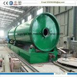 実行中カーボン熱分解機械にリサイクルする15トンのココナッツシェル