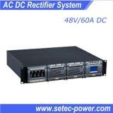 sistema di telecomunicazione del raddrizzatore 48V con la porta di comunicazione dello SNMP