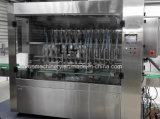 オリーブ油の満ちるパッキング機械