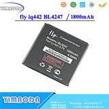 Batterie de qualité de Bl4247 1800mAh pour l'accumulateur de Smartphone du miracle 1 de la mouche Iq442 Iq442