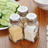 frascos de vidro do mini condimento 70ml para a especiaria de sal do armazenamento
