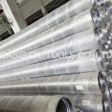 La vente chaude de fabrication a galvanisé le tamis filtrant de Johnson de puits d'eau de 168mm