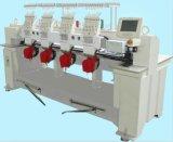 Máquina tubular automatizada del bordado para el bordado plano de la industria de la insignia de la camiseta del casquillo