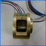 Alta qualità della giuntura rotativa attraverso l'anello di contatto elettrico dell'esportatore del foro