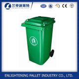 Scomparto di rifiuti di plastica del Wheelie da 120 litri/scomparto residuo/contenitore/pattumiera dell'immondizia
