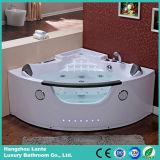 다채로운 LED 가벼운 실내 코너 아크릴 목욕 관 (TLP-678)