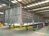 Reboque Flatbed de 3 andares de 50 toneladas e semi-reboque lateral com painéis laterais destacáveis