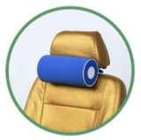 Складная подушка автомобиля остальных шеи поддержки спать перемещения