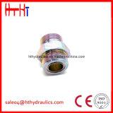 macho de 1CH/1DH-Rnw Metirc 24 do selo métrico do anel-O do cone do grau adaptadores hidráulicos da fábrica hidráulica