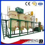 raffinage 10-100t/H d'huile de pépins brute de paume