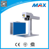 Petite machine de gravure en plastique tenue dans la main de laser de la fibre 20W