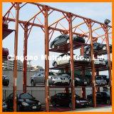 Гидровлический подъем стоянкы автомобилей 4 автомобилей