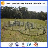 El panel galvanizado sumergido caliente resistente del ganado del panel de la yarda del ganado