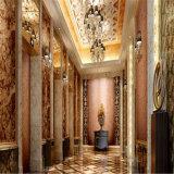 Espelho decorativo que grava a folha do teste padrão do aço inoxidável para a porta do elevador